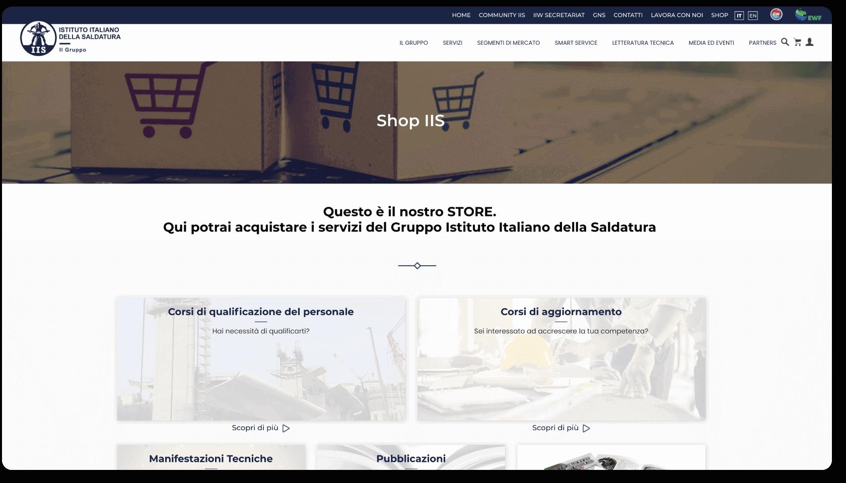sviluppo drupa commerce
